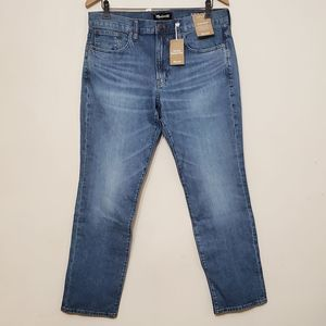 NWT Madewell Men's Straight Eco Collection Jeans